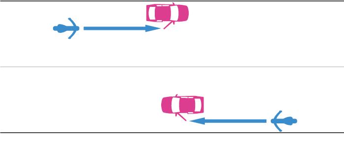 一般道で駐停車中の四輪自動車が開放していたドアに単車が衝突・接触した事故